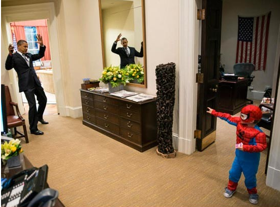 obama_spiderman